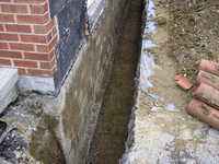 Waterproofing of Foundation Walls Toronto (GTA), Mississauga